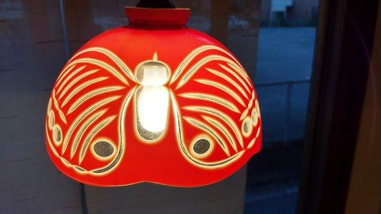 Kiki Fukuoka : Antique lamp shade