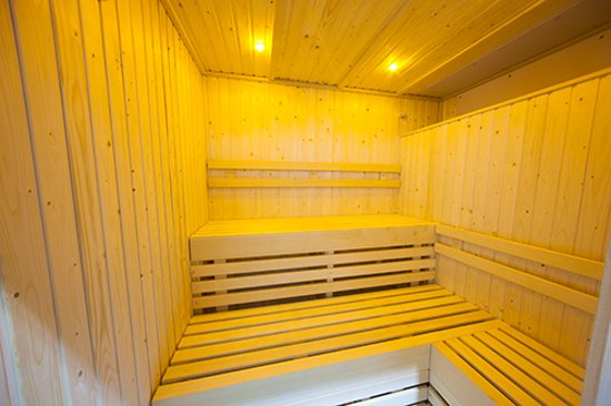 Mulberry Spa at Heacham Manor: Mulberry Spa Thermal Suite Sauna
