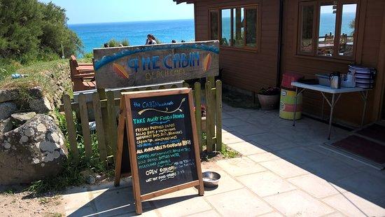 Perranuthnoe, UK: Views from the Cabin