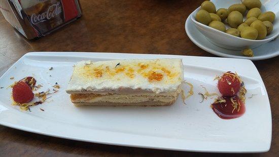 Milhojas de queso
