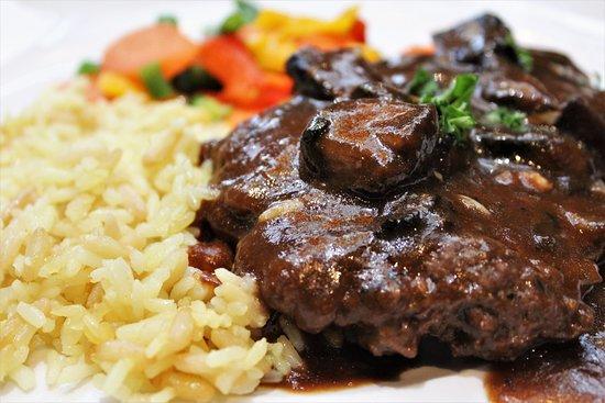 Harris, ميتشجان: Salisbury Steak