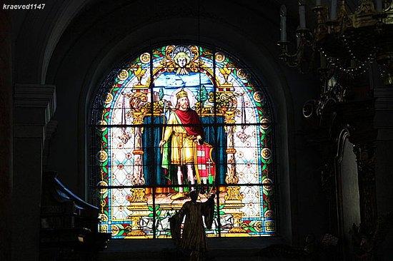 Biserica Romano Catolică: Витраж церкви
