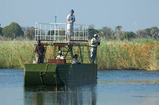 Kwando Concession NG14, Botswana: Kwando Lagoon Camp - Boat Activity