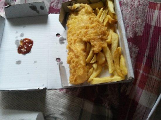 Oban Fish and Chip Shop: Haddock