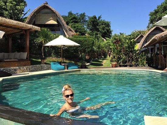 Milo's Home: Pool area