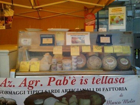 Az. agricola Pab'e is tellasa: al mercato