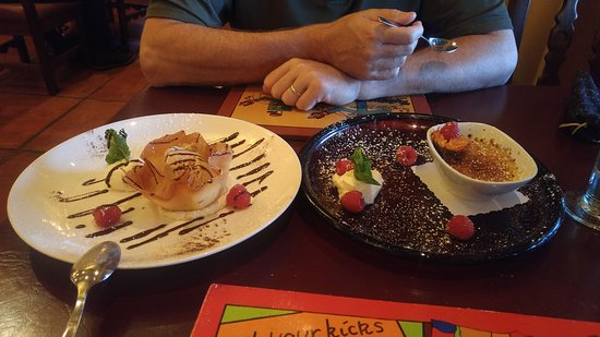 La Posada Hotel: Dessert