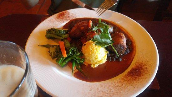 La Posada Hotel: Meat meal