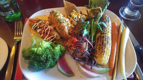 La Posada Hotel: Vegan meal