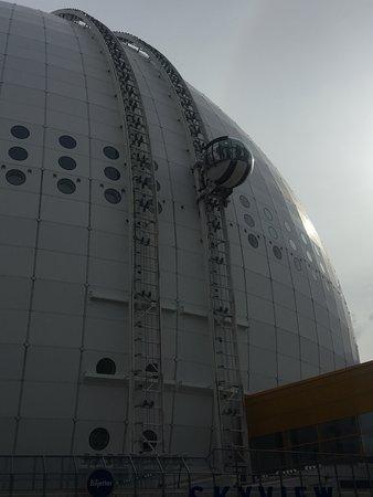 Ericsson Globe: スカイビュ