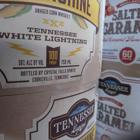 Tennessee Legend Distillery: The one that started it all and our number one product side by side!