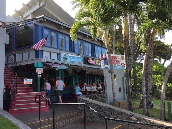 Moose McGillycuddy's: Entrance for the two restaurants