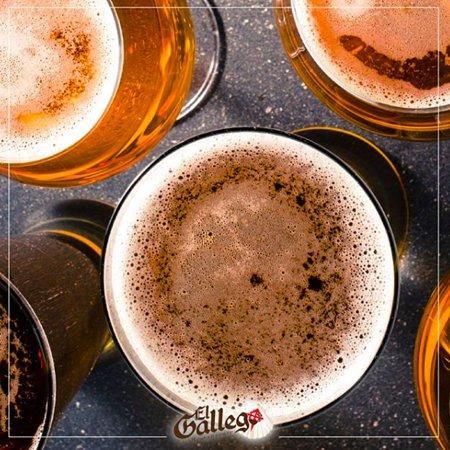 El Gallego: Contamos con una gran variedad de bebidas en nuestro bar.