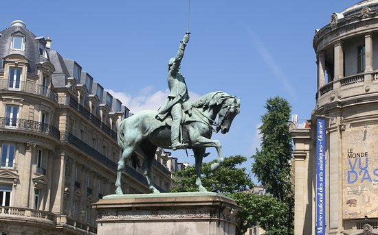 ‪Statue equestre de Washington‬