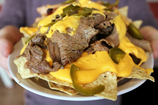 Whole Hog Cafe: Beef Brisket Nachos