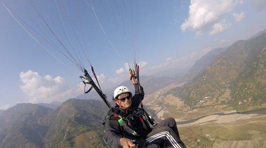 Gandaki Zone, نيبال: @ Andhikhola aviyation sport zone ,syangja