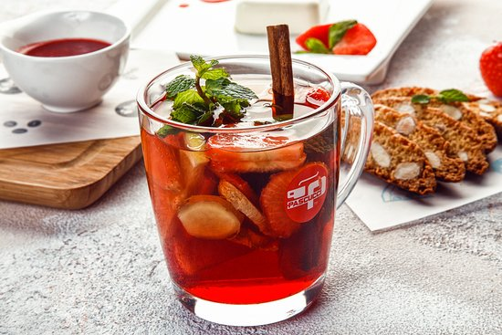 Агафредо: Авторский чай с ягодами