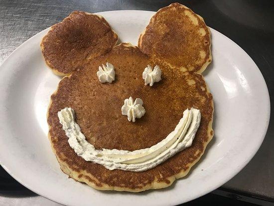 Jerseyville, IL: Mickey Mouse Pancake