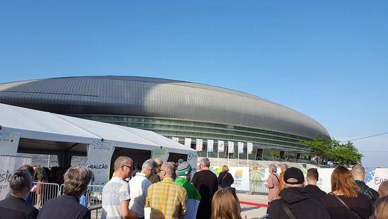 The Altice arena.