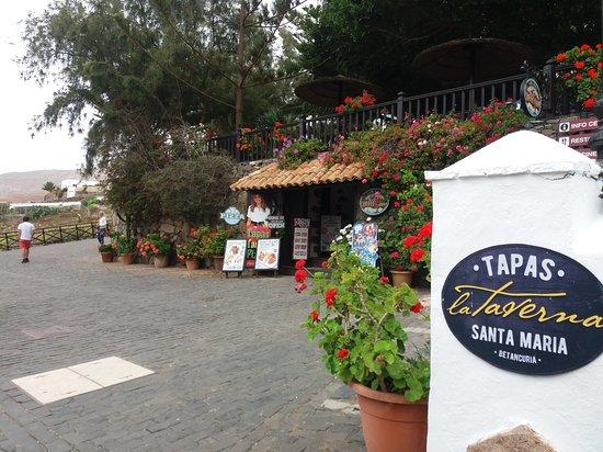 Betancuria: Restaurant
