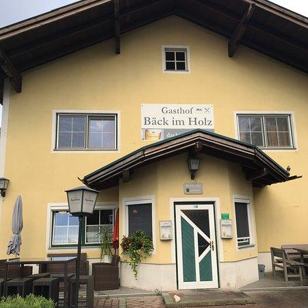Sattledt, Österreich: De buitenkant.