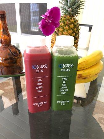 Jo Bistro: Code Red & GoJo Green Juice