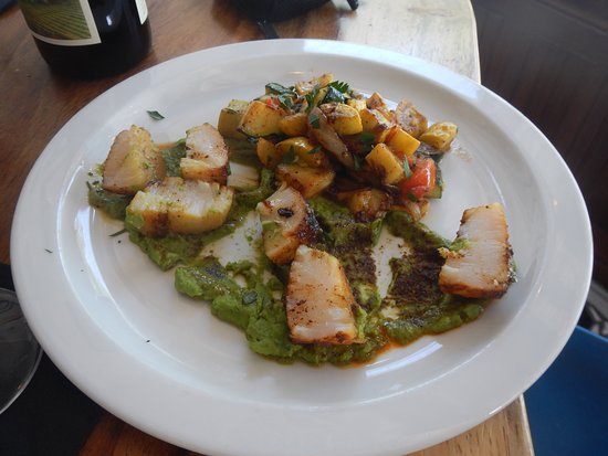 t at the General Store: scallops