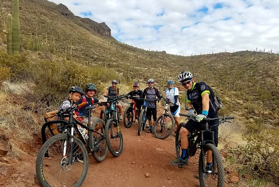 AZ Mountain Biking - Day Tours: Riding in beautiful Arizona!