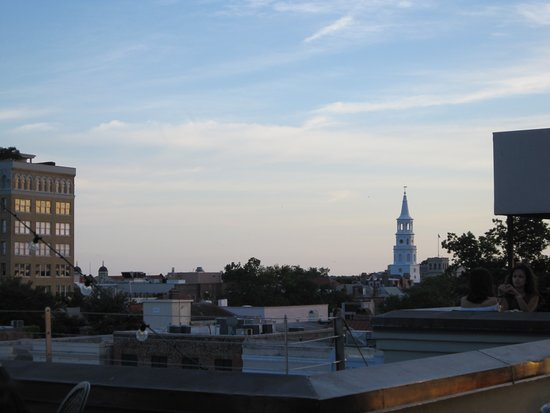 The Rooftop @ The Vendue: Rooftop view