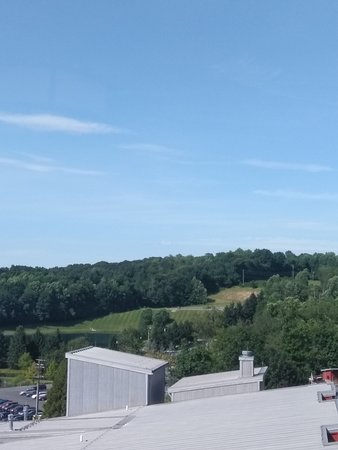 Macungie, PA: The view from the 6th floor window in the hallway