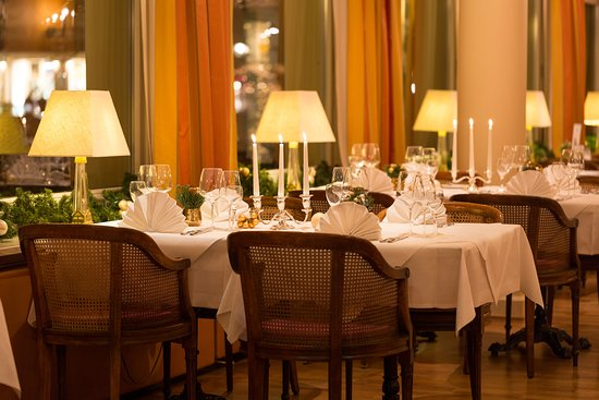 Atlantic Parkhotel: Restaurant