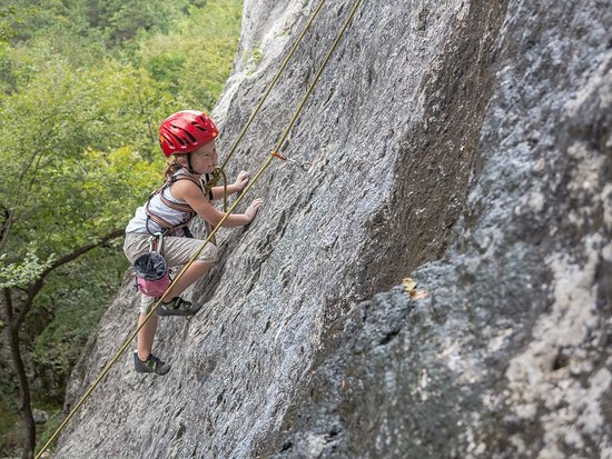 arco mountain guide kids rock climbing