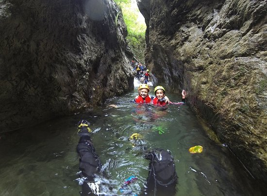 arco mountain guide canyoning