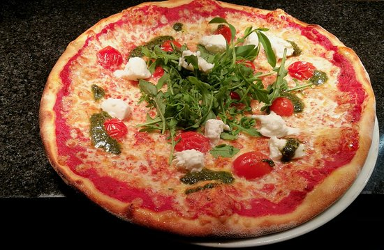 Rosso Kirkkopuisto: Pizza Margarita