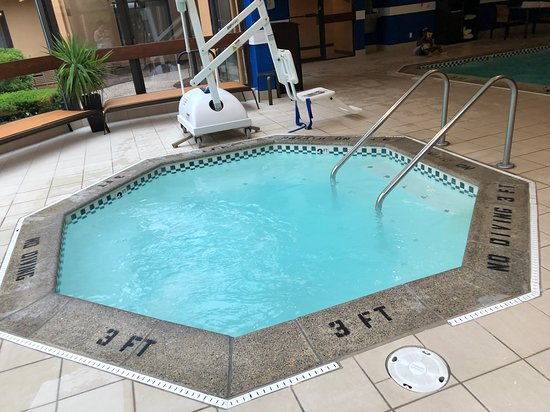 Courtyard by Marriott Detroit Livonia: Loved that hot tub