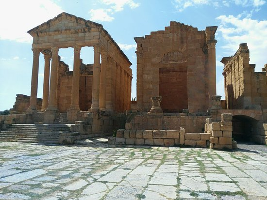 Subaytilah, Tunisia: Templo de Minerva