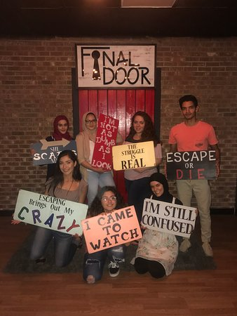 TripAdvisor gives a Certificate of Excellence to accommodations attractions and restaurants that consistently earn great reviews from travelers. & The Final Door Escape Room Columbia - 2018 All You Need to Know ...