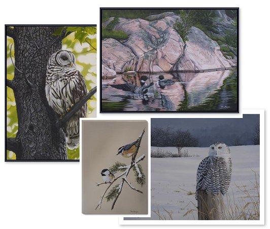 Ron Plaizier - Wildlife Artist