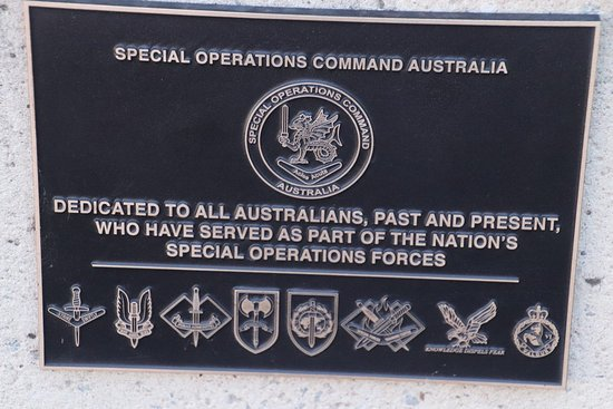 British Commonwealth Occupation Force Memorial: Special Operations Command Australia