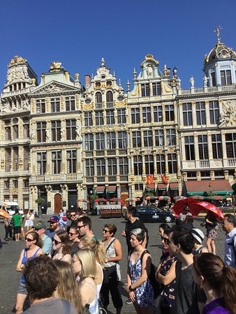 Free Tour Brussels: Beautiful Grand Place Brussels