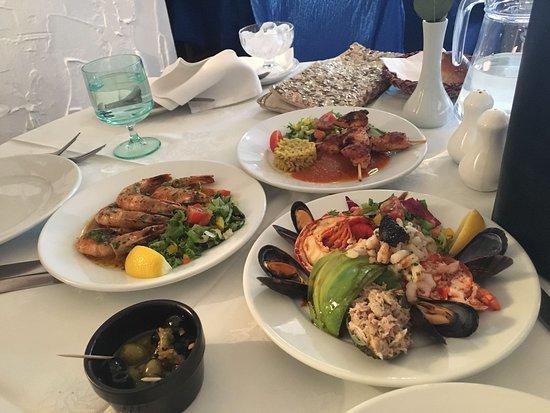 Mediterranean: Superb! Lobster salad all the food delicious!