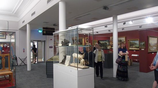 Kirkcudbright Galleries: Kirkcudbright artists' gallery