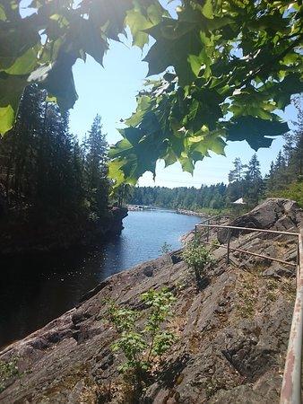 Imatra Waterfall: Русло