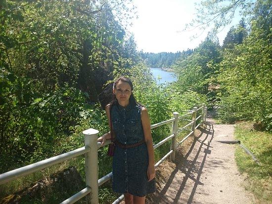 Imatra Waterfall: С погодой повезло
