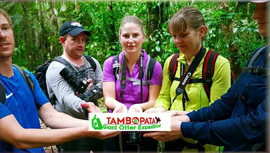 Tambopata Giant Otter Expeditions: great people