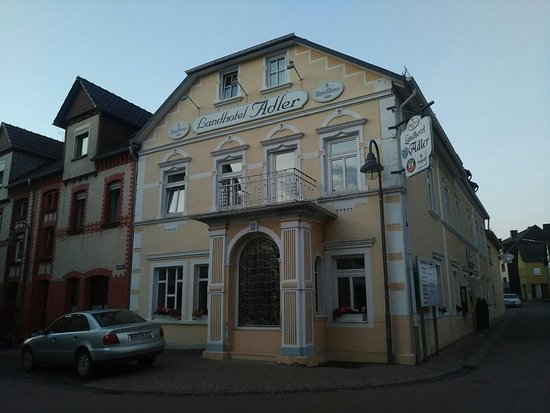Selters (Westerwald), Jerman: Front of Hotel