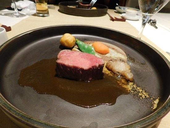 Kamikochi Hotel Shirakabaso: One of Several Courses