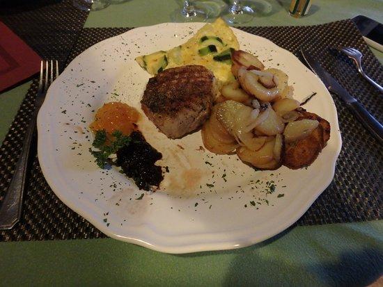Bidon, France: Filet de porc noir ibérique