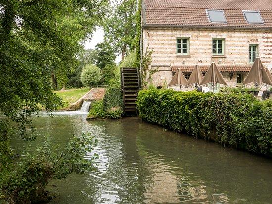 Le Moulin de Mombreux : room with a view