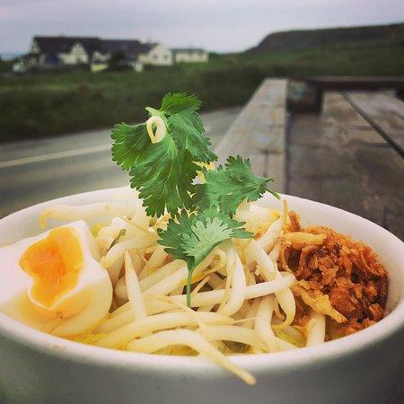 The Bay View Inn: Laksa Soup